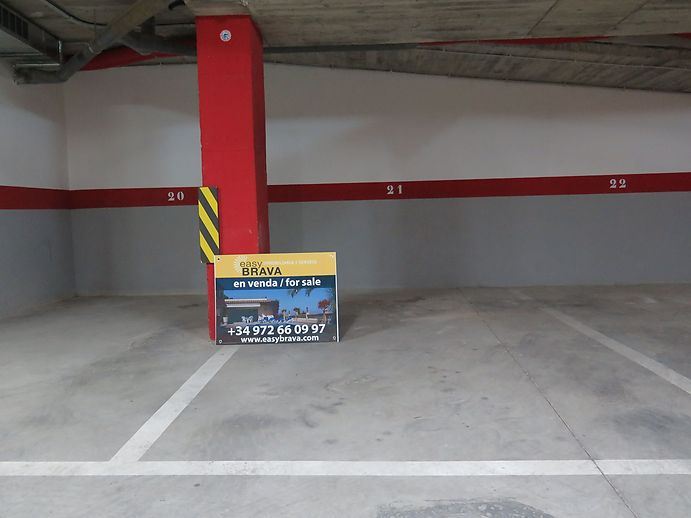 Places de parking à vendre